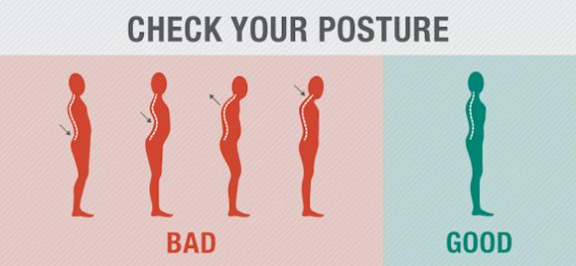 Bonne posture du dos avec la musculation